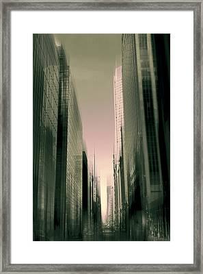 Metropolis Framed Print by Jessica Jenney