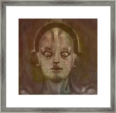 Metropolis Framed Print by Mary Bassett