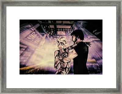 Metropolis Revisited  Framed Print by Bob Orsillo