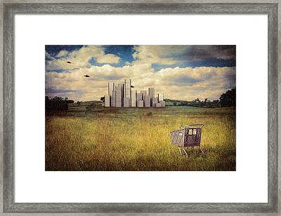 Metropolis Framed Print by Tom Mc Nemar