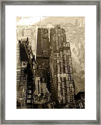 Metropolis V Framed Print