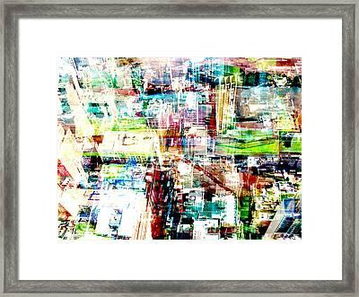 Metropolis Vi Framed Print by David Studwell