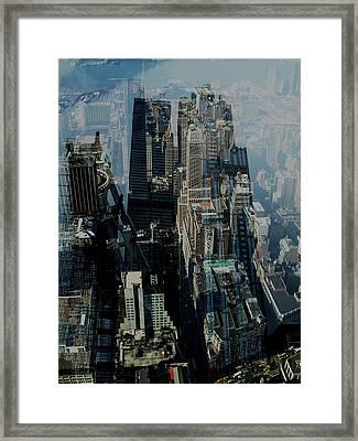 Metropolis Vii Framed Print by David Studwell