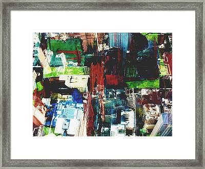 Metropolis Viii Framed Print by David Studwell