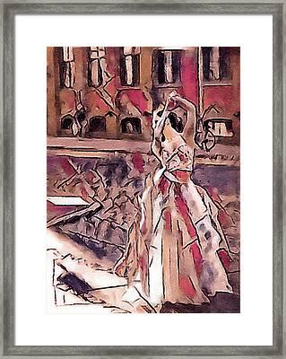 Metropolitan Ballet Framed Print by Susan Maxwell Schmidt