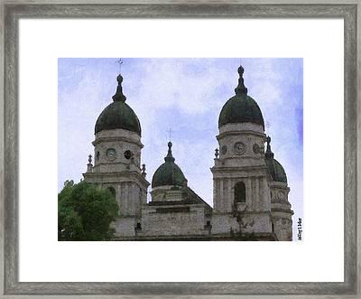 Metropolitan Cathedral Framed Print