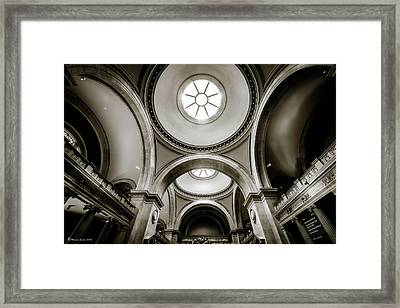 Metropolitan Museum Of New York Framed Print by Marvin Spates