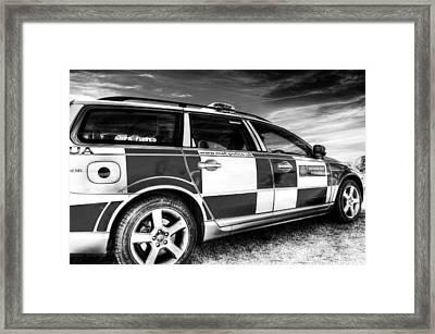 Metropolitan Police Car Framed Print by David Pyatt