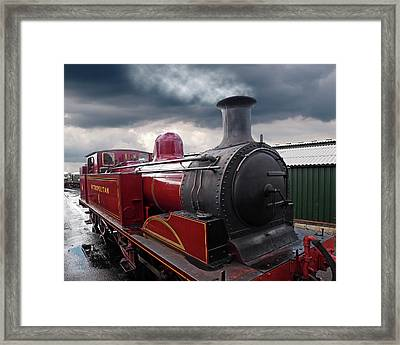 Old Metropolitan Steam Train Framed Print by Gill Billington