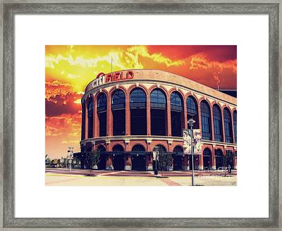 Mets Citi Field  Framed Print by Nishanth Gopinathan