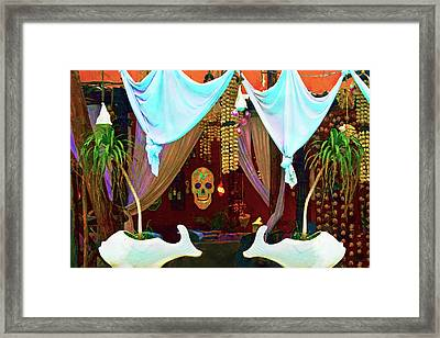 Mexican Alhambra Framed Print