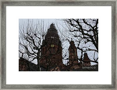 Mexican Church Framed Print
