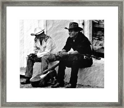 Mexican Cowboys Framed Print