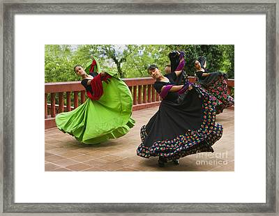 Mexican Dancers - San Miguel De Allende Framed Print by Craig Lovell
