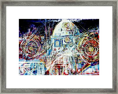 Mexican Fireworks Framed Print by Dale  Witherow