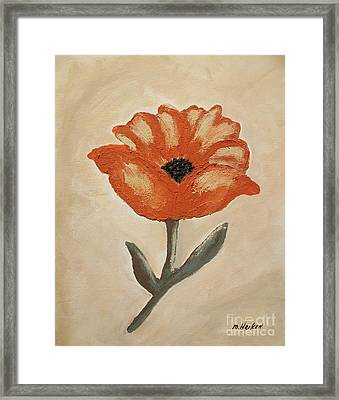 Mexican Flower Framed Print