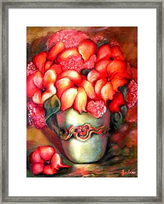 Mexican Flowers Framed Print