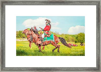 Mexican Horse Soldiers Framed Print