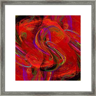 Mexican Jumping Beans Framed Print by Diane Parnell