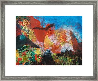 Mexico Framed Print by Frances Bourne