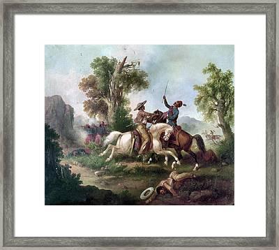 Mexico: Hapsburg Reign Framed Print by Granger