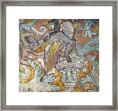 Mexico: Ixmiquilpan Fresco Framed Print by Granger