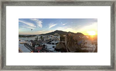 Framed Print featuring the photograph Mexico Memories 3 by Victor K