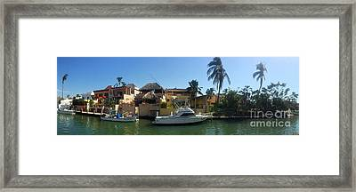 Framed Print featuring the photograph Mexico Memories 5 by Victor K