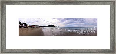 Framed Print featuring the photograph Mexico Memories 7 by Victor K