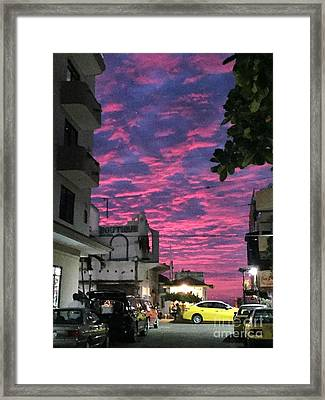 Mexico Memories 1 Framed Print