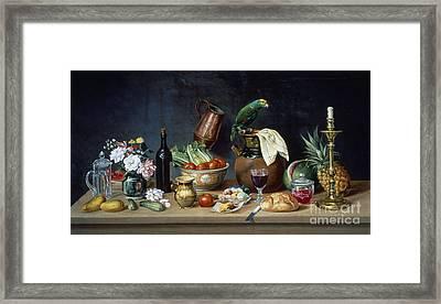 Mexico: Still Life Framed Print by Granger