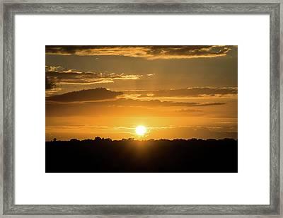 Mexico Sunset Framed Print