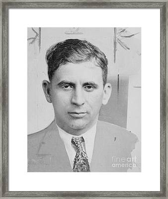 Meyer Lansky (1902-1983) Framed Print