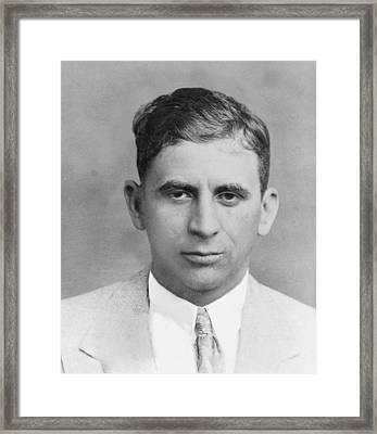 Meyer Lansky 1902-1983, In 1949 Framed Print
