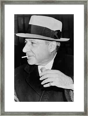Meyer Lansky 1902-1983, Reached Framed Print