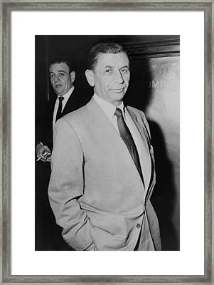 Meyer Lansky 1902-1983, Underworld Framed Print