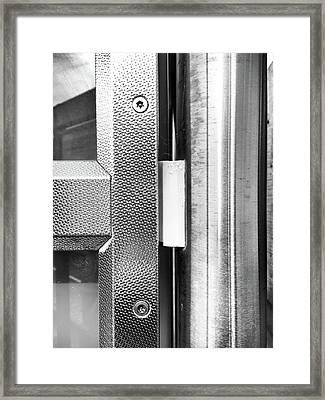 Meytallic Detail Background  Framed Print by Tom Gowanlock