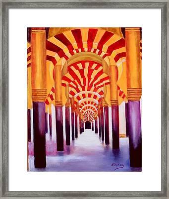 Mezquita De Cordoba Framed Print by Manuel Sanchez