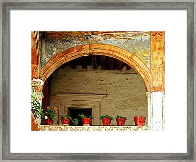 Mezzanine 1 Framed Print by Mexicolors Art Photography
