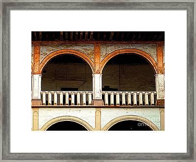 Mezzanine 3 Framed Print by Mexicolors Art Photography