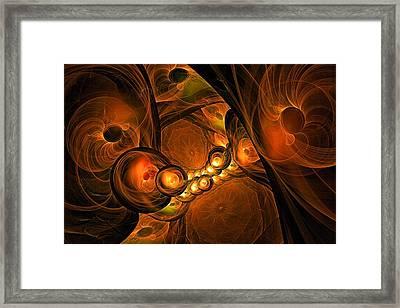 Mezzanine-- Level 3 Framed Print
