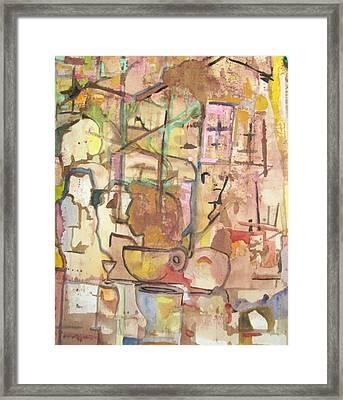 Mezzo Four Framed Print by James Christiansen