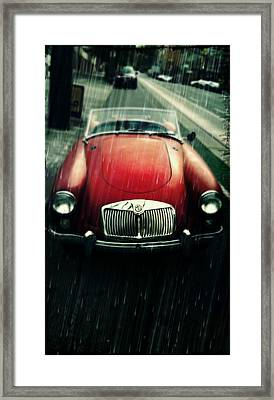 MG Framed Print by Cathie Tyler