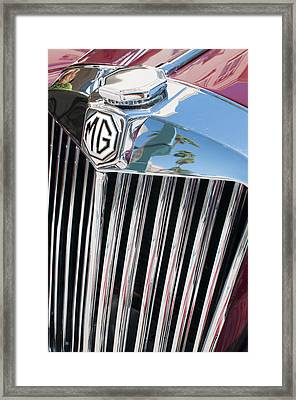 Mg Chrome Grille Framed Print
