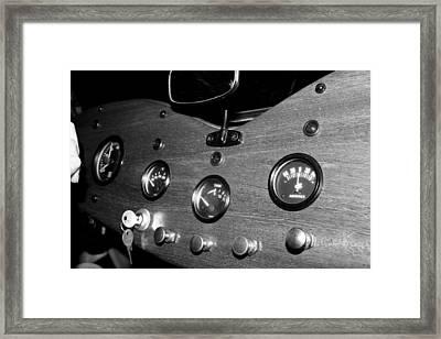 Mg Gauges Framed Print
