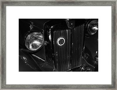 MG Framed Print