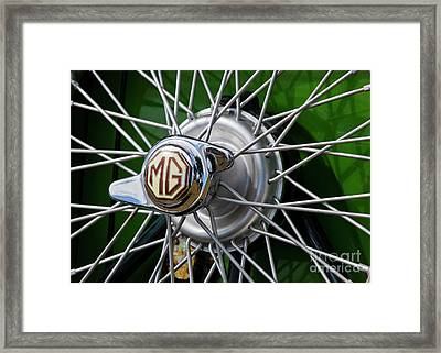 Mg Hub Framed Print