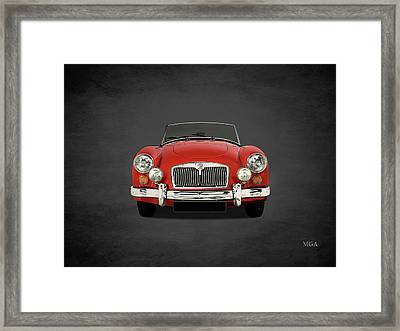 Mg Mga 1500 Framed Print