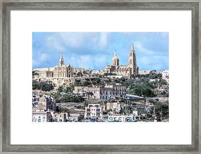 Mgarr - Gozo Framed Print by Joana Kruse