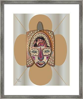 Mhask I I Framed Print